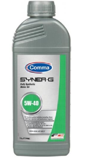 Олива для двигуна Comma SYNER-G 5W40 1L