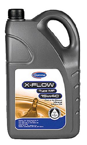 Олива для двигуна Comma X-FLOW MF 15W40 MIN. 4L