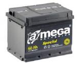 Аккумулятор a-mega batteries standard 60ah 12v 540a (+-) (плюс слева) A-Mega 6CT-60-A31S