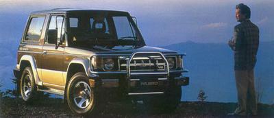 Mitsubishi PAJERO I Canvas Top (L04G)