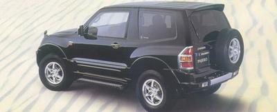Mitsubishi PAJERO II Canvas Top (V2W, V4W)