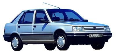 Peugeot 309 II (3C, 3A)