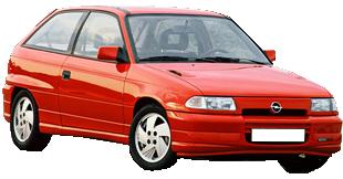 Opel ASTRA F (53, 54, 58, 59)