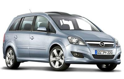 Opel ZAFIRA B Van