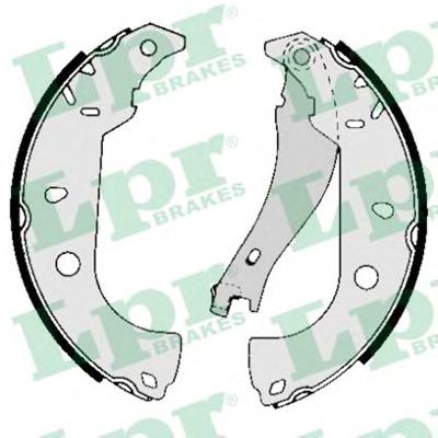 Комплект тормозных колодок Lpr 05050