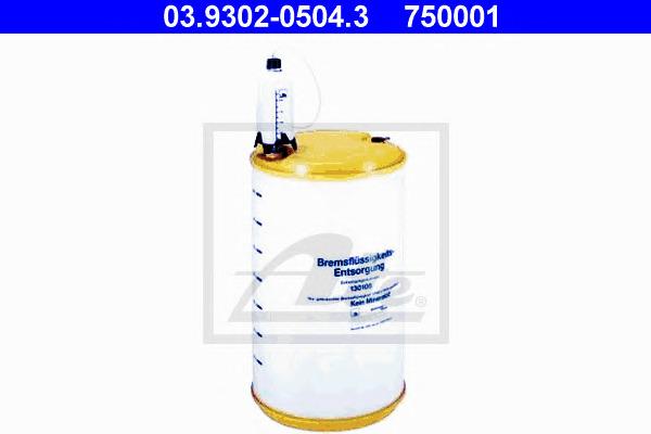 Инструмент переработки, тормозная жидкость Ate 03930205043