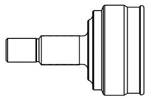 Шарнирный комплект, приводной вал Gsp 817012