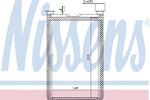 Теплообменник, отопление салона Nissens 70526