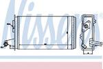 Теплообменник, отопление салона Nissens 71438