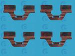 Комплектующие, колодки дискового тормоза Ert 420007