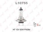 Лампа накаливания, фара дальнего света Lynxauto L10755