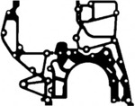 Прокладка, картер рулевого механизма Elring 452.581