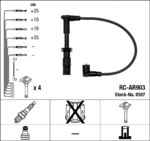 Комплект проводов зажигания Ngk 8597