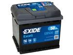 Стартерная аккумуляторная батарея Exide EB500