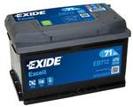 Стартерная аккумуляторная батарея Exide EB712