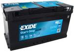 Стартерная аккумуляторная батарея Exide EK950