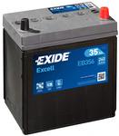 Стартерная аккумуляторная батарея Exide EB356