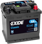Стартерная аккумуляторная батарея Exide EC440