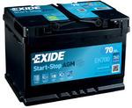 Стартерная аккумуляторная батарея Exide EK700