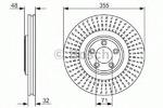 Тормозной диск Bosch BO 0986479754