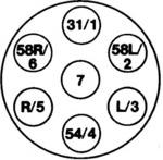 Розетка Hella 8JB008085001