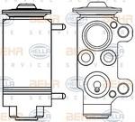Расширительный клапан, кондиционер Hella 8UW351234131