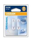Лампа накаливания, фонарь освещения номерного знака Osram 6418-02B