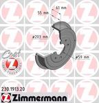 Тормозной барабан Zimmermann 230191320