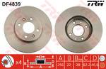 Тормозной диск Trw DF4839