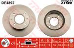 Тормозной диск Trw DF4892