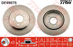 Тормозной диск Trw DF4907S