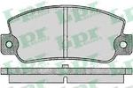 Комплект тормозных колодок, дисковый тормоз Lpr 05P095