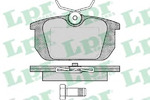 Комплект тормозных колодок, дисковый тормоз Lpr 05P101