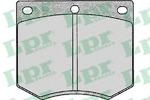 Комплект тормозных колодок, дисковый тормоз Lpr 05P126