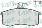 Комплект тормозных колодок, дисковый тормоз Lpr 05P288