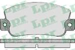 Комплект тормозных колодок, дисковый тормоз Lpr 05P410