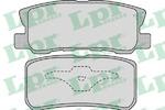 Комплект тормозных колодок, дисковый тормоз Lpr 05P954