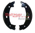 Комплект тормозных колодок, стояночная тормозная система Metzger MG780