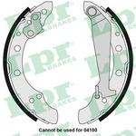 Комплект тормозных колодок Lpr 05730