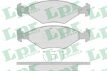 Комплект тормозных колодок, дисковый тормоз Lpr 05P632