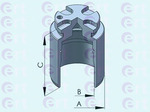 Поршень, корпус скобы тормоза Ert 150984-C