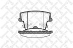 Комплект тормозных колодок, дисковый тормоз (задний мост) Stellox 1138008SX