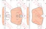 Комплект тормозных колодок, дисковый тормоз Trw GDB1835
