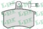 Комплект тормозных колодок, дисковый тормоз Lpr 05P215