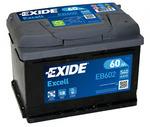 Стартерная аккумуляторная батарея Exide EB602