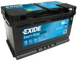 Стартерная аккумуляторная батарея Exide EK800