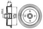 Тормозной барабан Bosch 0986477029