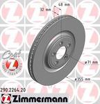 Тормозной диск Zimmermann ZI 290.2264.20