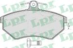 Комплект тормозных колодок, дисковый тормоз Lpr 05P600
