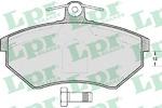 Комплект тормозных колодок, дисковый тормоз Lpr 05P613